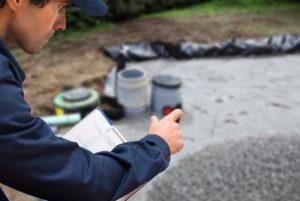 drain field lines, septic field, septic drain field, leach field